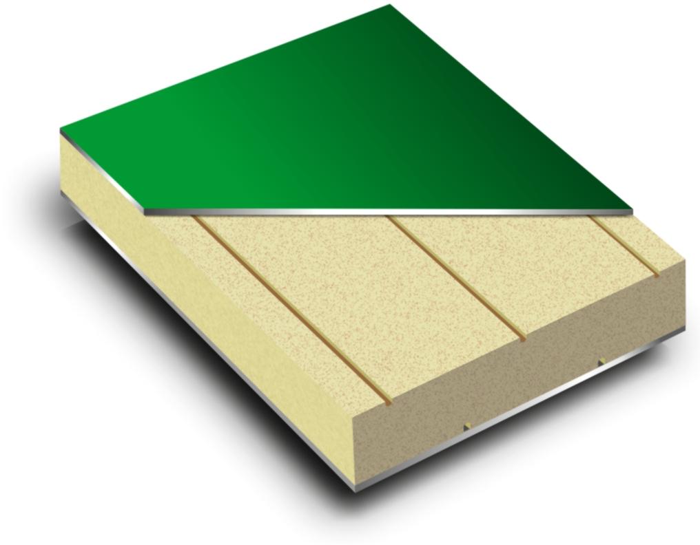 Płyta aluminiowa warstwowa