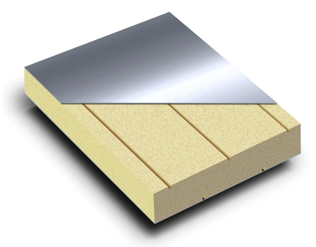 Płyta warstwowa do budowy wentylacji i klimatyzacji